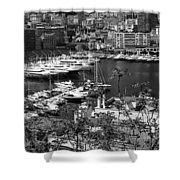 Monte Carlo 10b Shower Curtain