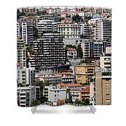 Monte Carlo 9 Shower Curtain