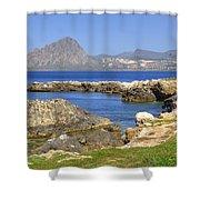 Monte Cofano - Sicily Shower Curtain