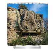 Monte Moro Bunkers - Bunkers Monte Moro Shower Curtain