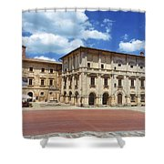 Montepulciano Piazza Grande Shower Curtain