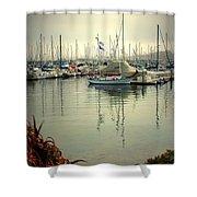 Monterey Marina II Shower Curtain