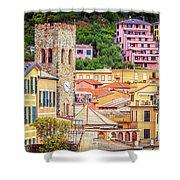 Monterosso Al Mare Cinque Terre Italy Shower Curtain