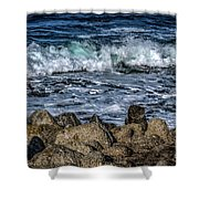 Montery County Coast, California Shower Curtain