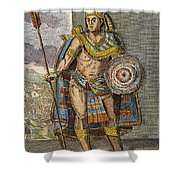 Montezuma II (1480?-1520) Shower Curtain