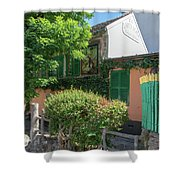 Montmarte Paris La Lapin Agile Cabaret Shower Curtain