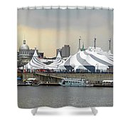 Montreal 10 Shower Curtain
