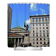 Montreal 17 Shower Curtain