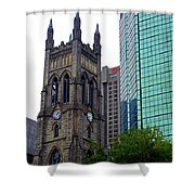 Montreal 26 Shower Curtain