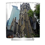Montreal 27 Shower Curtain