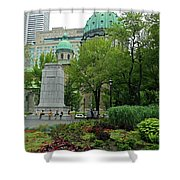 Montreal 28 Shower Curtain