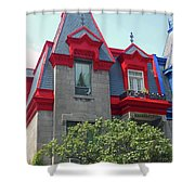 Montreal 33 Shower Curtain