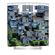 Montreal 42 Shower Curtain