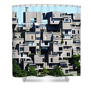 Montreal 44 Shower Curtain