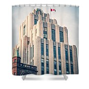 Montreal - Aldred Building Shower Curtain