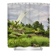 Montreal Biodome Backdrop Shower Curtain