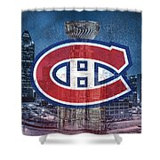 Montreal Canadiens City Shower Curtain