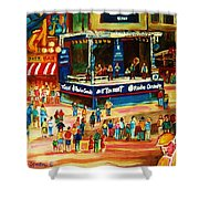 Montreal Jazz Festival Shower Curtain