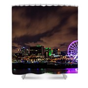 Montreal Observation Wheel Shower Curtain