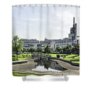Montreal Peace In The Rush Shower Curtain