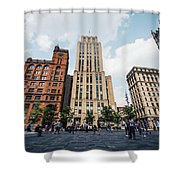 Montreal - Place Darmes Shower Curtain
