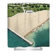 Montrose Beach Shower Curtain