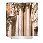 Montserrat Monastery Shower Curtain