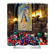 Montserrat Shrine Shower Curtain