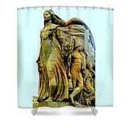 Monument Aux Morts 7 Shower Curtain