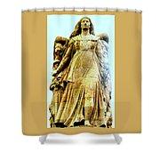 Monument Aux Morts 8 Shower Curtain