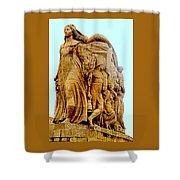 Monument Aux Morts 9 Shower Curtain
