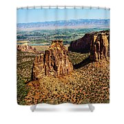 Monument Canyon Shower Curtain