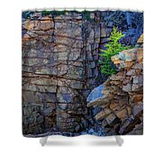 Monument Cove I Shower Curtain