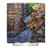Monument Cove II Shower Curtain