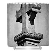 Monument Cross Macroom Ireland Shower Curtain