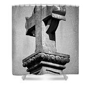Monument Cross Macroom Ireland Shower Curtain