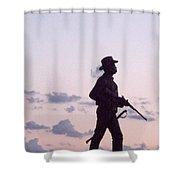 Monument Gettysburg Shower Curtain
