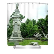 Monument Hill Shower Curtain