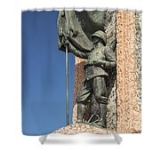 Monument Of The Republic Shower Curtain