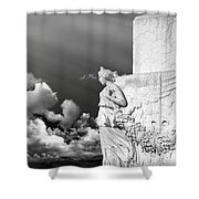 Monument Particular In Rome Shower Curtain