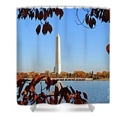 Monument River Shower Curtain