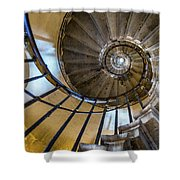 Monument Stairs Shower Curtain