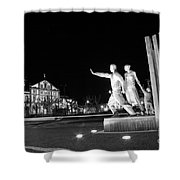 Monument To The Emigrant Shower Curtain