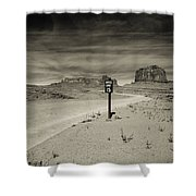 Monument Valley 6 Shower Curtain