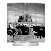 Monument Valley: Butte Shower Curtain