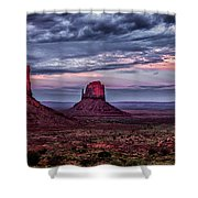 Monument Valley Mittens Shower Curtain