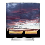 Monument Valley Morning #1 Shower Curtain