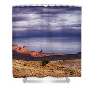 Monument Valley Morning Shower Curtain