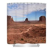 Monument Valley-one Shower Curtain