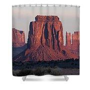 Monument Valley Sunrise 7288 Shower Curtain